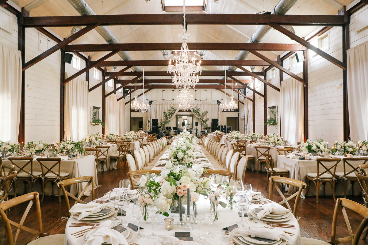 reception details in the Granary